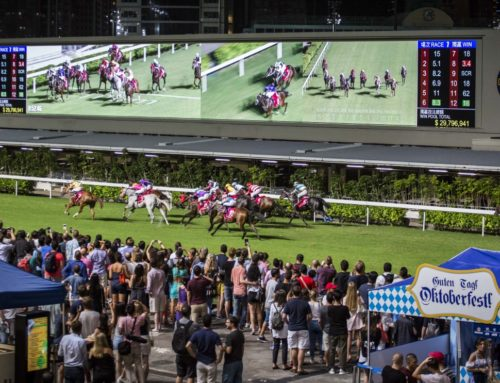 9th of October: Oktoberfest at Happy Valley Racecourse