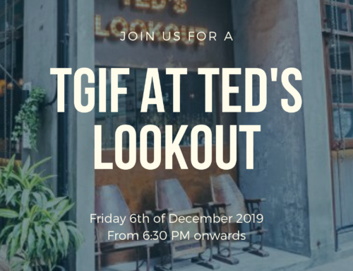 6 Dec: TGIF at Ted's Lookout