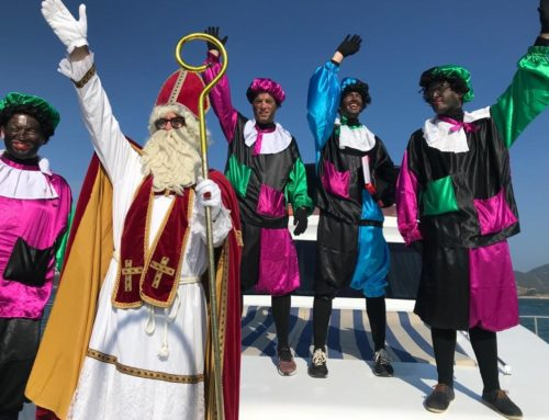 30 Nov: Saint Nicolas visits Belgians in Hong Kong