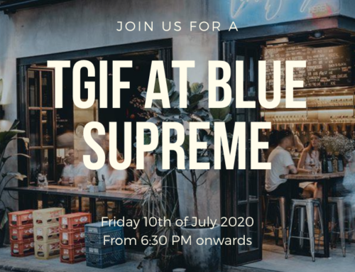 10 July: TGIF at Blue Supreme