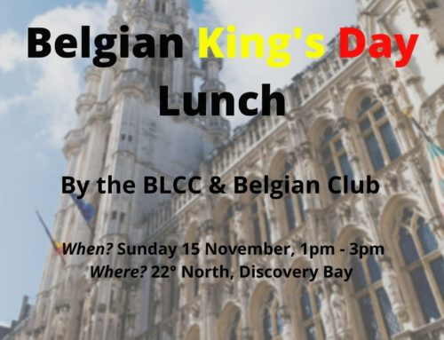 15 Nov: King's Day Lunch